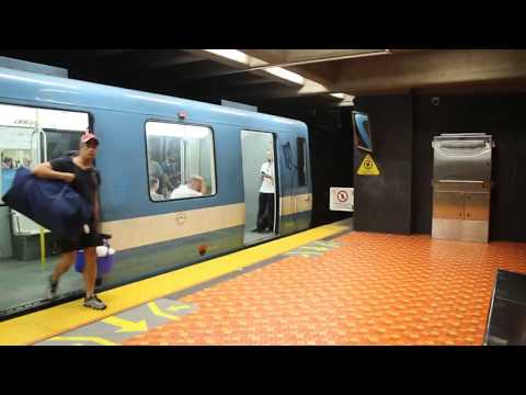 MONTREAL METRO AND COMMUTER TRAIN RIDES JOLIETTE TO MONTREAL-OUEST