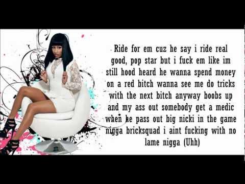 Nicki Minaj- Get Low Lyrics