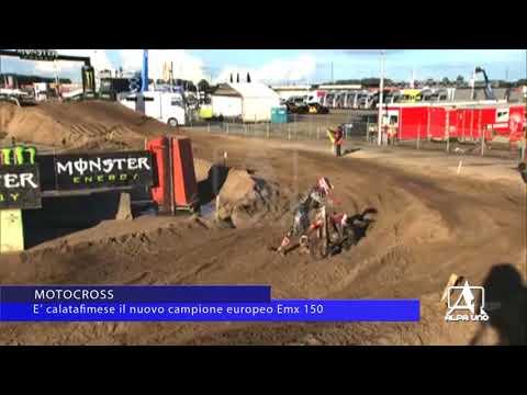 MOTOCROSS,  E' calatafimese il nuovo campione europeo Emx 150