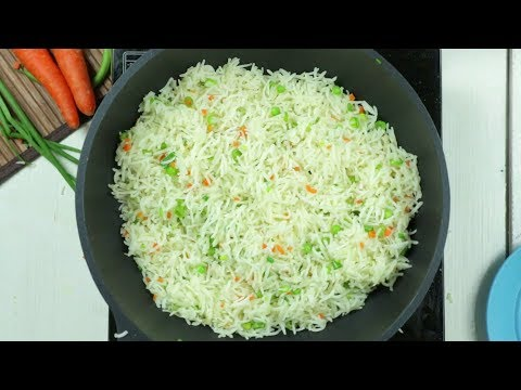 2 Min Veg Fried Rice Street Style | How to Make Quick & Easy Vegetable Fried Rice | Volga Videos
