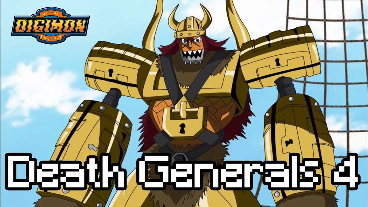 Digimon Xros Wars ประวัติ Death Generals พาร์ท4 โจรสลัดทองคำ(มีสปอย)