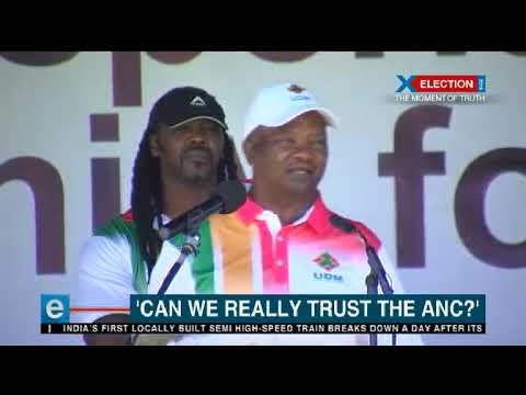 'Can we really trust the ANC'? Holomisa asks