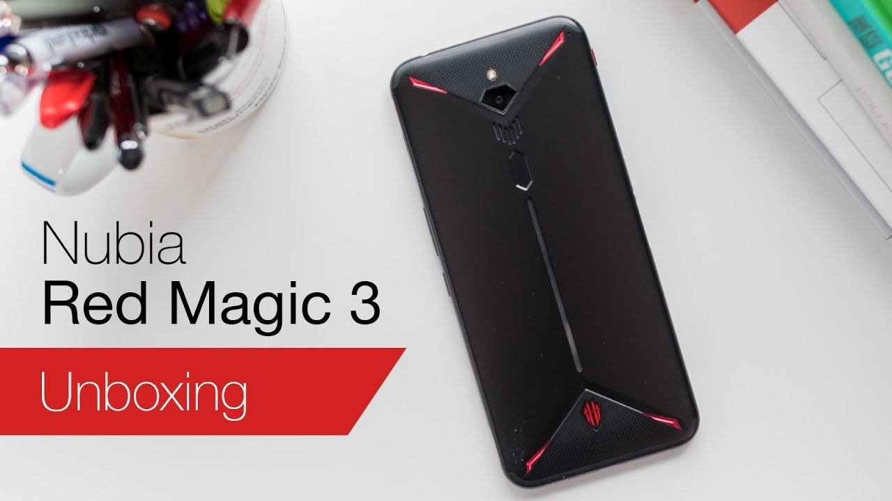 Image result for Nubia Red Magic 3s on youtube
