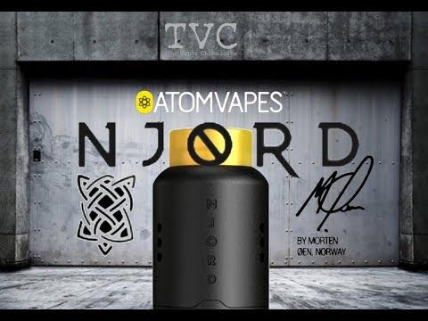 NJORD RDA By Atom Vapes & Designed By Morten Oen