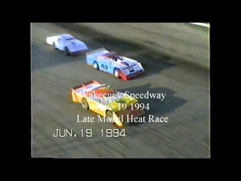 Double Take Out-Wakeeney Speedway Late Model Heat Race June 1994