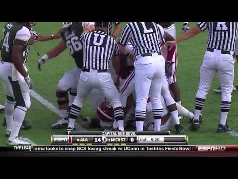 2011 Capital One Bowl - #16 Alabama vs #9 Michigan State