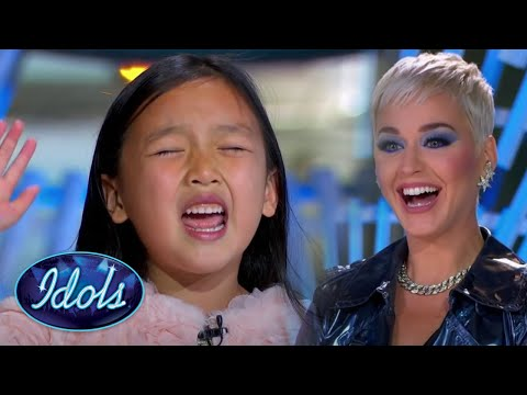 ADORABLE 7 YEAR OLD AUDITIONS FOR AMERICAN IDOL   Idols Global