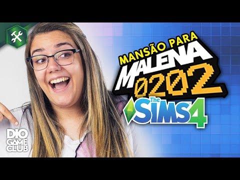 MANSÃO PARA MALENA! [parte 3] ~ Construindo no The Sims 4 | DioGameClub thumbnail