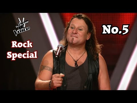 The Voice - Best of Rock/Metal Blind Auditions (No.5)