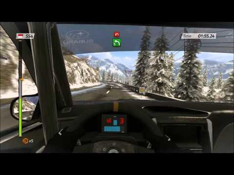 WRC 4 FIA World Rally Championship - Subaru Impreza WRX STI - Rallye Monte-Carlo - Gameplay