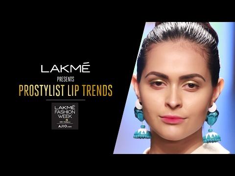 Lakme Prostylist Lip Trend: Blush Gradient Lips