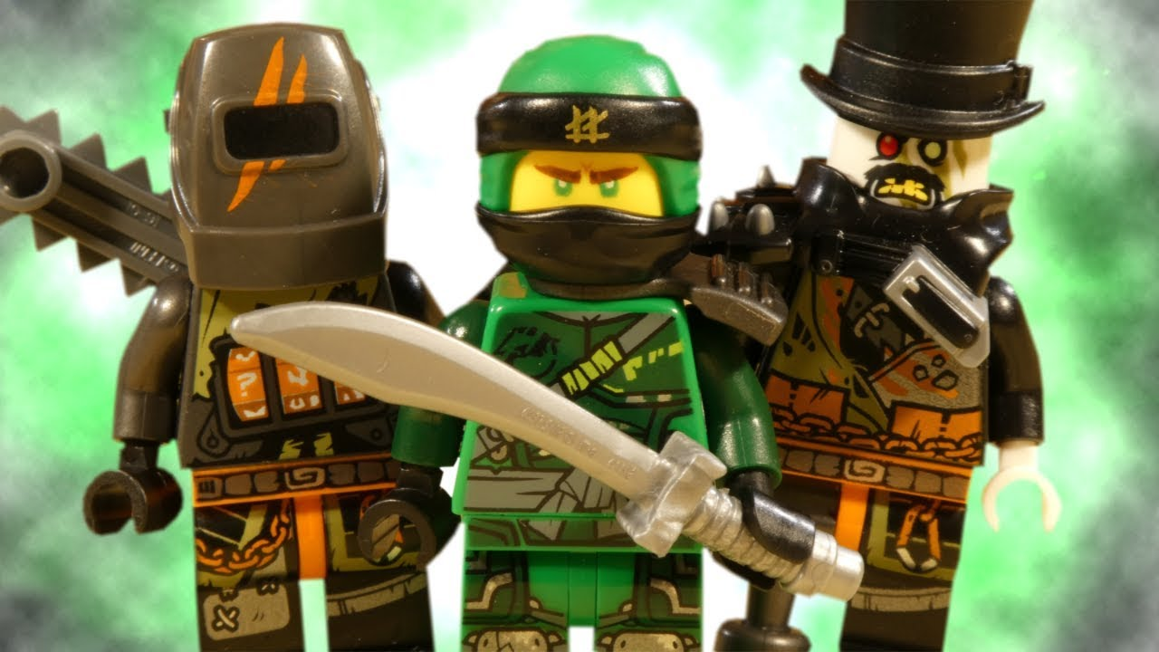 LEGO NINJAGO HUNTED - LLOYD V'S DRAGON HUNTERS