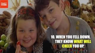 11 Reasons Why You Should Be Thankful Having Siblings