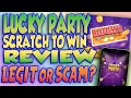 LUCKY PARTY - SCRATCH TO WIN APP REVIEW  LEGIT OR SCAM ...