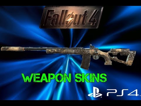 Best Fallout 4 Mods Ps4 2020 THE BEST WEAPON SKIN MOD SO FAR (FALLOUT 4 PS4 MODS) ep 2   YouTube