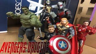 Avengers Origins (Marvel Stop Motion)