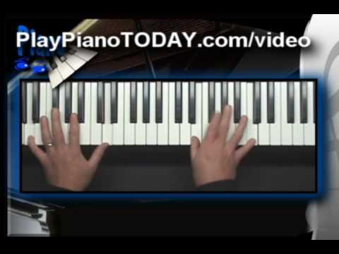 Piano Lessons Slash Chords Chap 1 Youtube