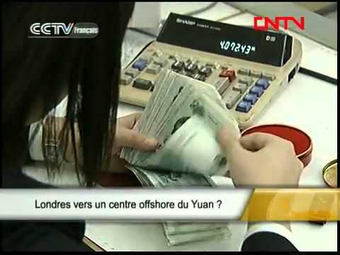 Londres vers un centre offshore du Yuan