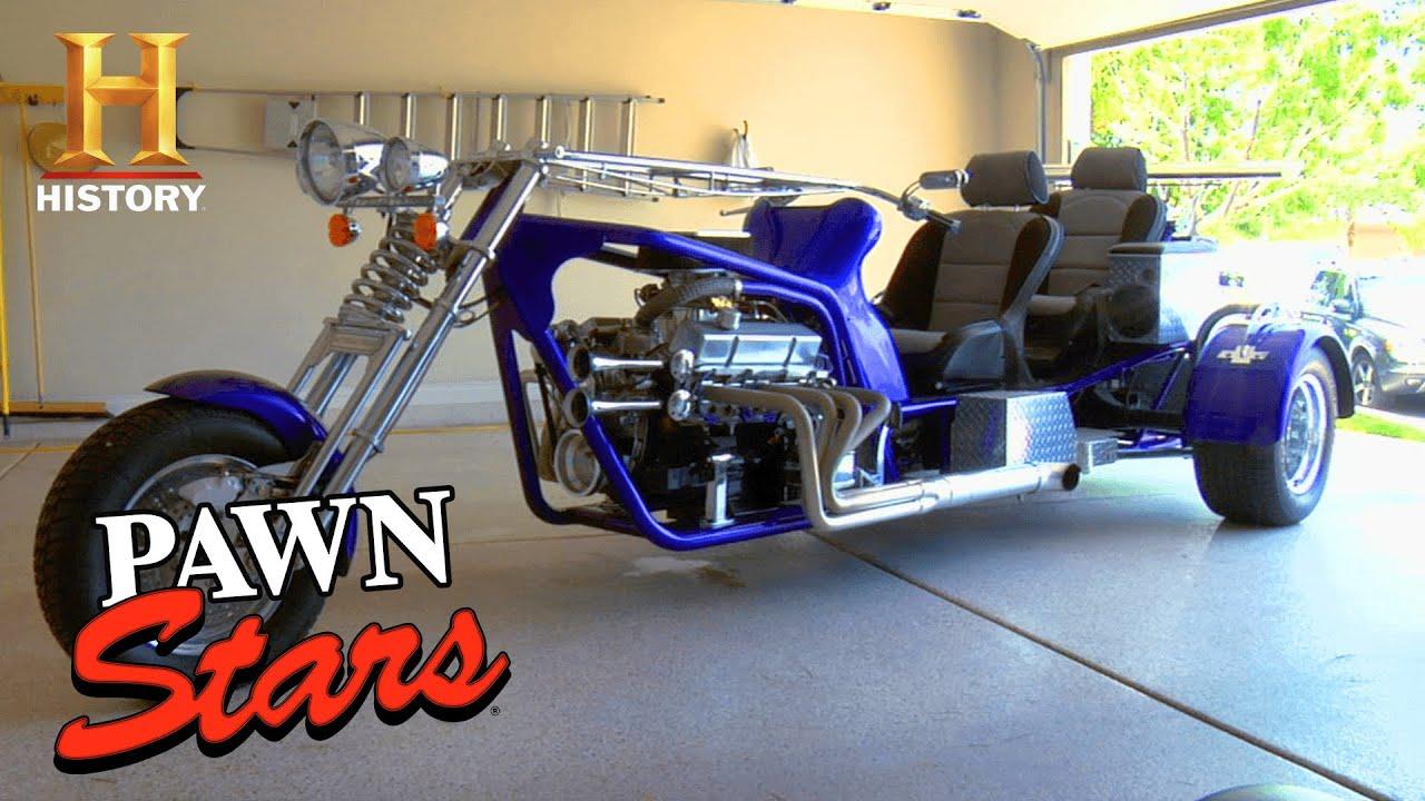 Pawn Stars: $100,000 DOLLAR Custom Bike Doesn't Add Up (Season 5)   History