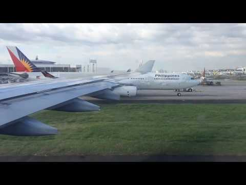 Philippine Airlines Manila to Incheon travel video