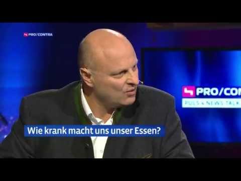 WHO Studie - Krebs durch Wurst? Talkshow mit Attila Hildmann