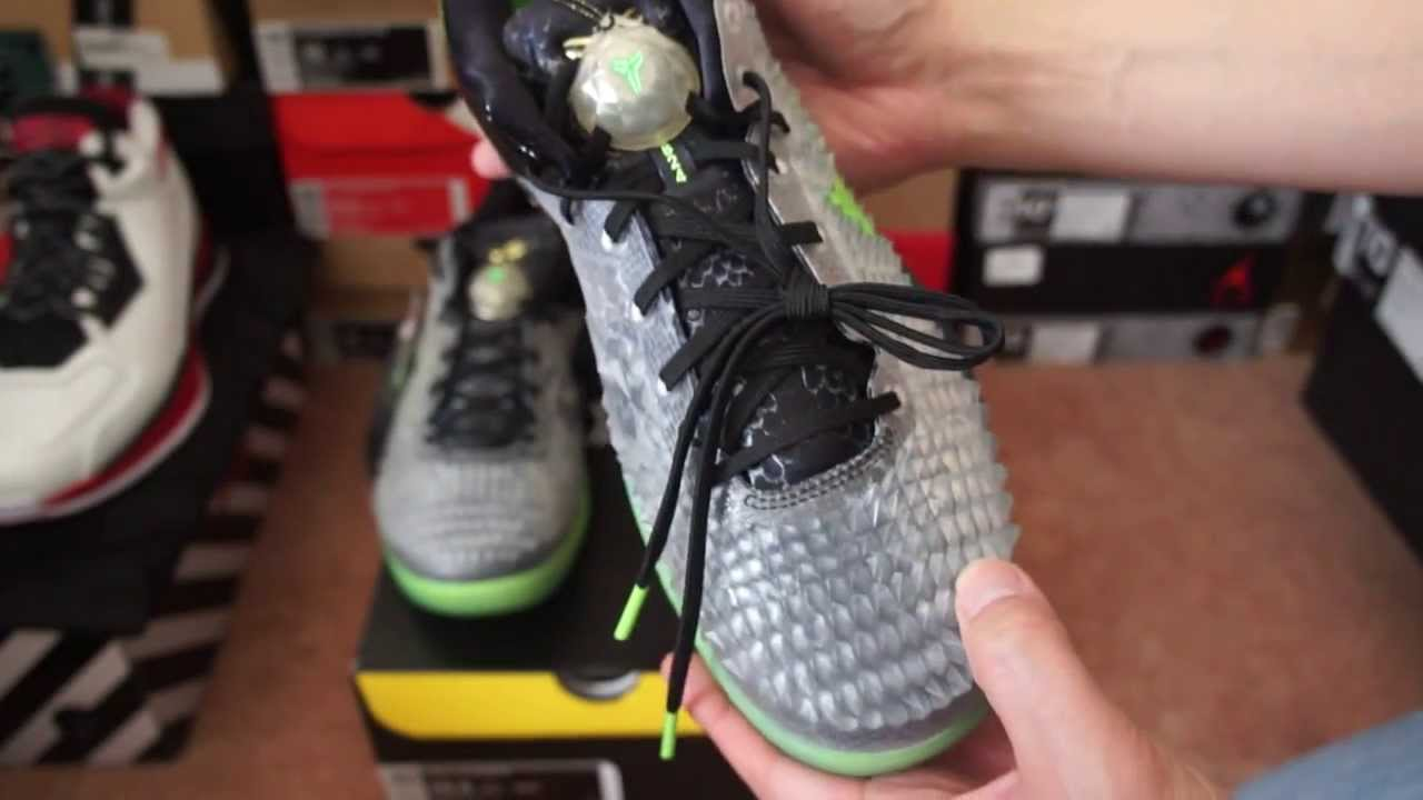 2013 Christmas Kobe 8 System SS Shedding Skin Review Nike.com - YouTube