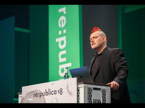 re:publica 2018 – Sascha Lobo: Pop und Anti-Pop – Wie das Internet uns lehrte zu kämpfen. Und wofür.