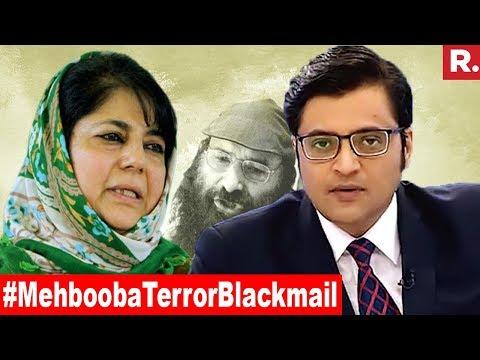 Mehbooba Mufti's 1987 Warning In 2018   The Debate With Arnab Goswami