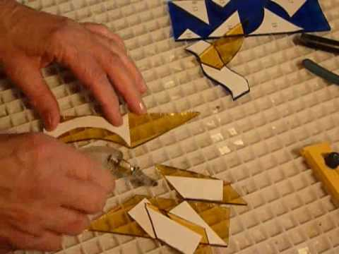 E Stained Glass Cutting Tips Wmv Youtube