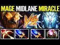 NEW EPIC ZEUS COUNTER MID CARRY EARTHSHAKER by MagE Delete Miracle MMR IMBA ES Build Dota 2