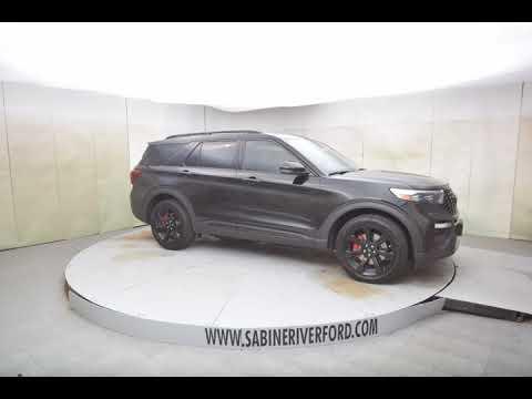 2020 Black Metallic Ford Explorer 4D Sport Utility #7688