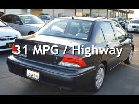 2003 Mitsubishi Lancer ES Extra Low Miles & Gas Saver for sale in SACRAMENTO, CA