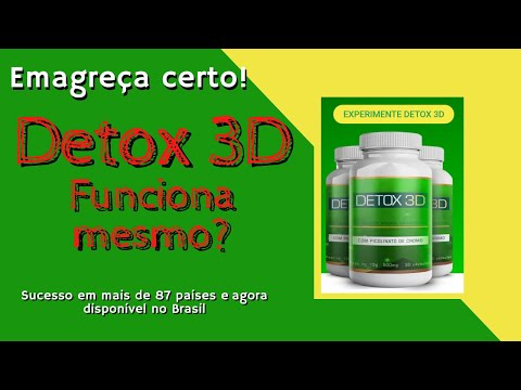 detox 3d emagrecedor
