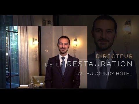 Directeur de la Restauration à l'Hôtel Burgundy Paris *****