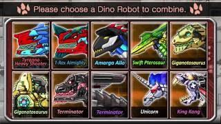 Мультфильм игры для детей Сборка скелет динозавра #2