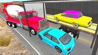 Грузовики и Правила Дорожного Движения - Мультфильм про машины для мальчиков