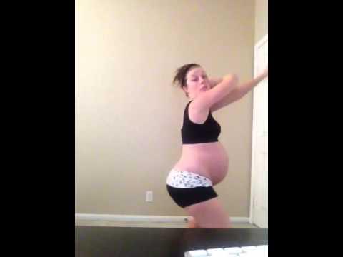 9 Months Pregnant Zumba