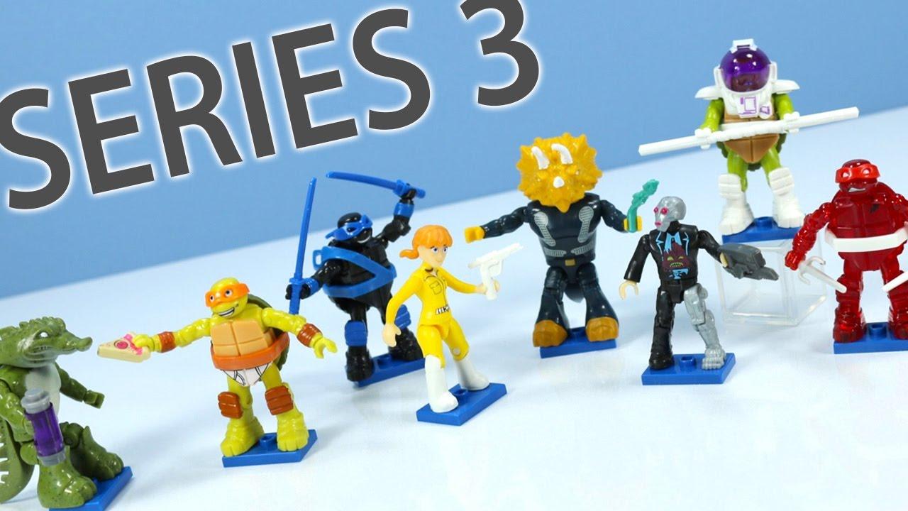 Teenage Mutant Ninja Turtles Mega Bloks Minifigures Series
