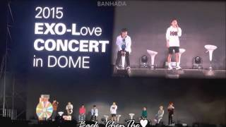 [eng sub] EXO-Love Dome Concert - GOD of Sexy Dance CHEN