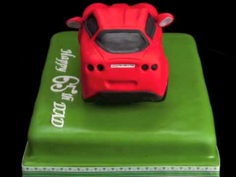 Corvette Birthday Cake YouTube