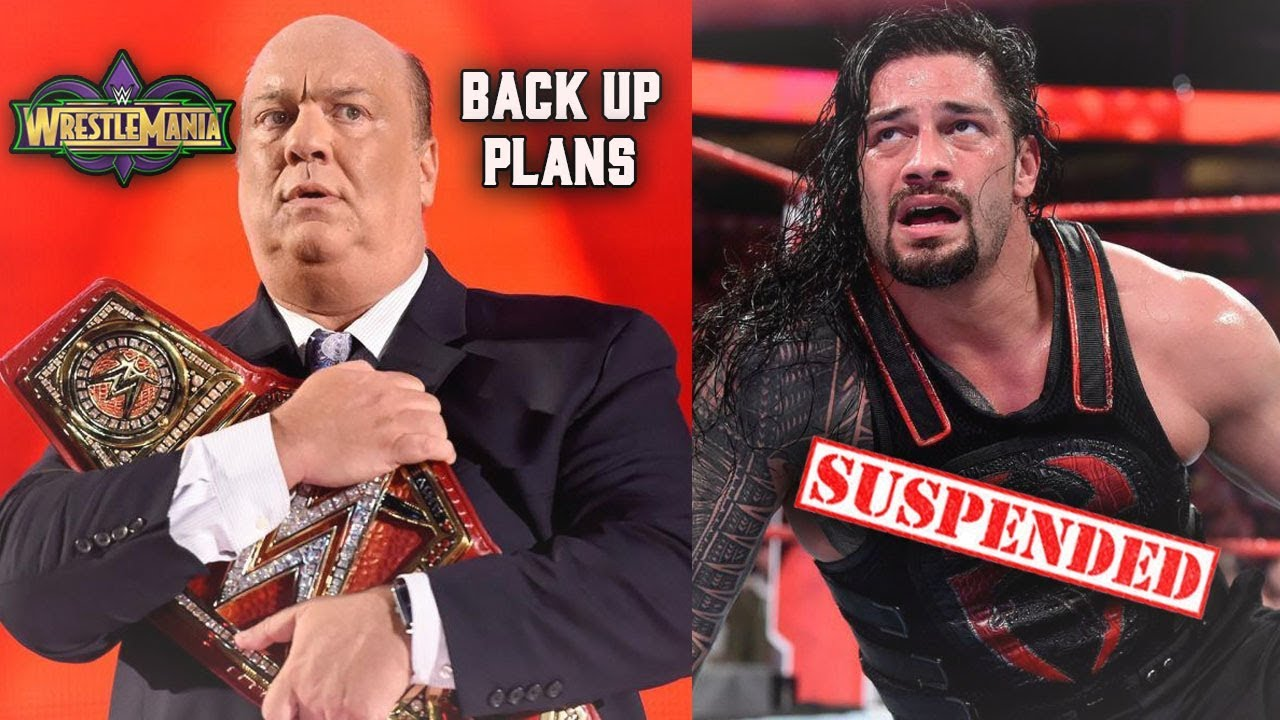 ROMAN REIGNS TO BE TAKEN OUT OF WM34 MAIN EVENT IF THIS HAPPENS (WM34 BACK UP PLANS)