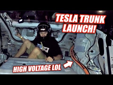 Probably Our Worst Idea Yet... (gutted Tesla P100D)