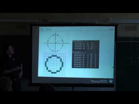 Самоанализ урока по дисциплине «Компьютерная графика» в