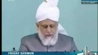Проповедь Хазрата Мирзы Масрура Ахмада, (07-05-10) часть 1