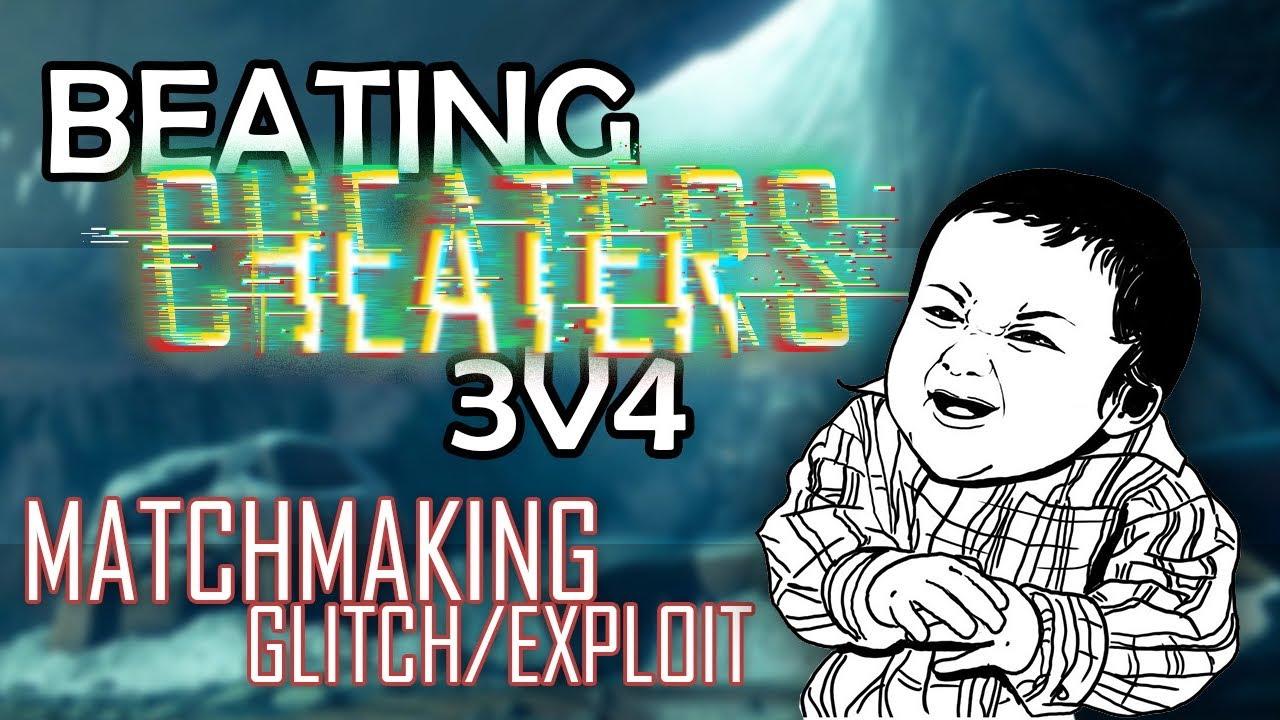 Solo matchmaking exploits