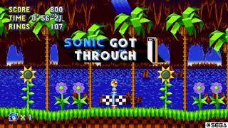 Sonic Mania speed run