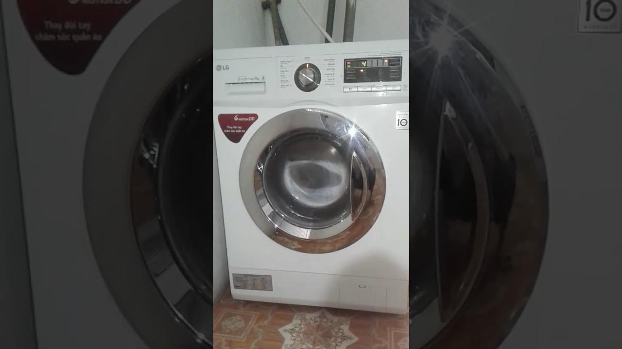 Máy giặt LG cửa ngang kêu to khi vắt