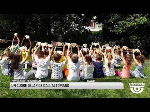 TG BASSANO (18/06/2019) - UN CUORE DI LARICE DALL'...