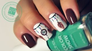 Ловец снов №1 | Dreamcatcher Nails | KSEVA