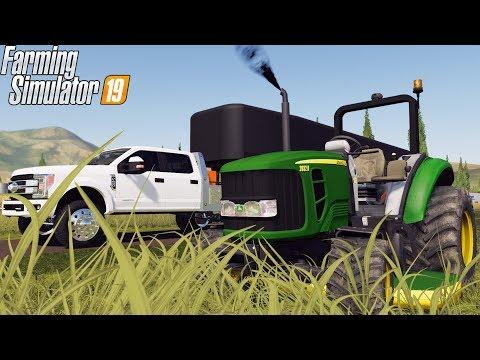 MOWING BUSINESS | JOHN DEERE 2032r | FARMING SIMULATOR 2019 thumbnail